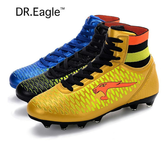 Adulto De Alta Sapatos De Futebol Chuteiras De Futebol Botas