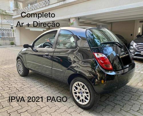 Ford Ka 2007 1.0 Completo Ar + Direção