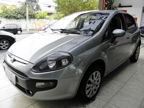 Fiat Punto Attractive 2013 8v Flex 4p Manual Cinza