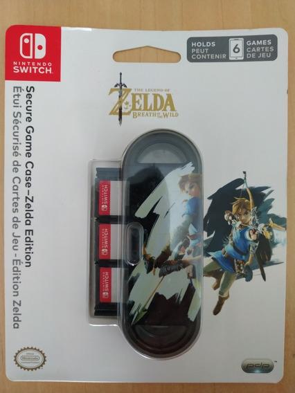 Case Jogos Secure Game Case Zelda Edition Switch Nintendo