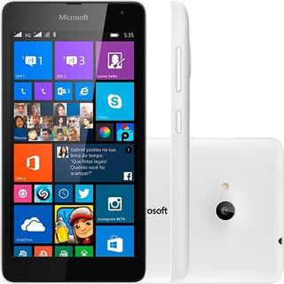 Microsoft 535 Windows Phone 8.1 Tela 5 Dual - Demonstração