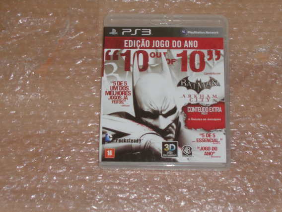 Batman Arkham City - Ps3 - Frete R$ 20