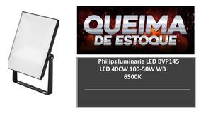 Kit 6 Refletor Led 50w 6500m Ip65 Biv Philips 80% Economico