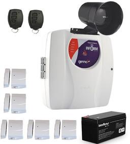 Kit Alarme Residencial Genno 3 Sensores Programado