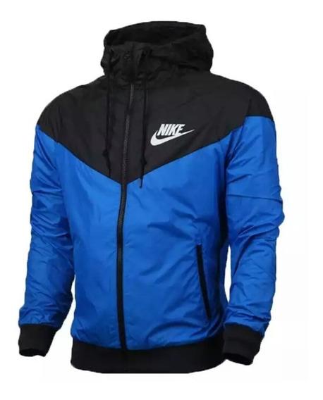 Jaqueta Corta Vento Nike Azul Masculina