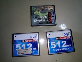 Cartao Compact Flash 512mb