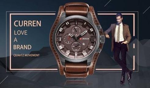 Relógio Curren Original Curren Preço Barato