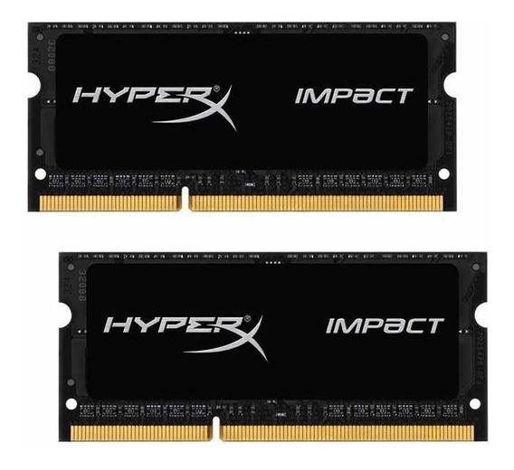 Memoria Ram 16gb Kingston Technology Hyperx Impact (2 X 8g) 204-pin Ddr3 So-dimm Ddr3l 1600 Mhz (pc3l 12800) Mode