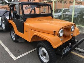 Jeep Wllys 1960 Placa Preta Cambio 3 Marchas Reduzido Com G