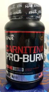 Quemador De Grasas L-carnitina Pro Burn Ena Sport Nutrition