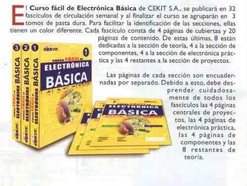 Manual Fácil De Electrónica Básica Cekit Envio Gratis Mercado Libre