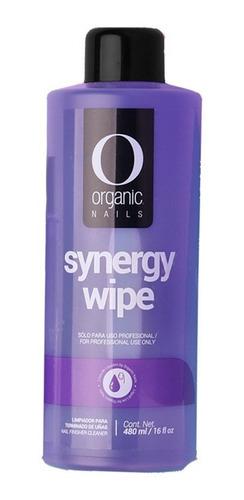 Imagen 1 de 5 de Synergy Wipe Limpiador De Uñas 480 Ml By Organic Nails