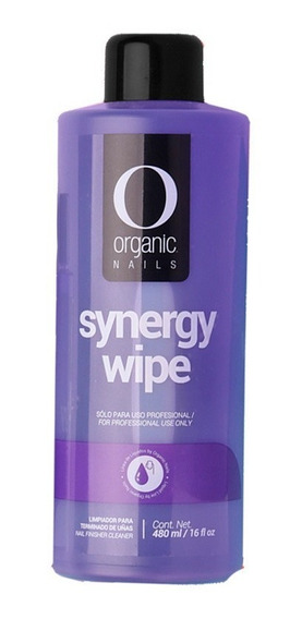 Synergy Wipe Limpiador De Uñas 480 Ml By Organic Nails