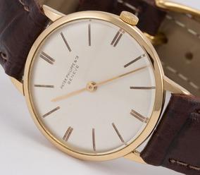 Relógio Patek Philippe Em Ouro 18k
