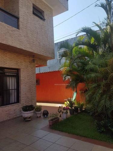 Imagem 1 de 22 de Casa Com 3 Dormitórios À Venda Por R$ 550.000,00 - Areia Branca - Santos/sp - Ca0112