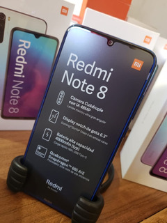 Xiaomi Redmi Note 8 64gb 4g 6 Cuotas Sin Interés!!