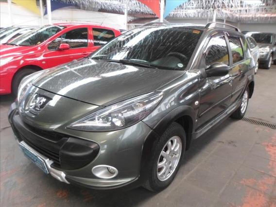 Peugeot- 207 1.6 Flex Escapade Sw 2010 Verde/completa