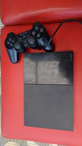 Playstation 2 + Controle Ou Troco Por Jogo De Ps4