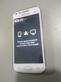 Celular Samsung Galaxy Core Plus Tv Não Sai Dessa Tela
