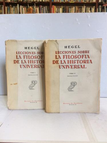 Lecciones Sobre La Filosofía De La Historia Universal, Hegel