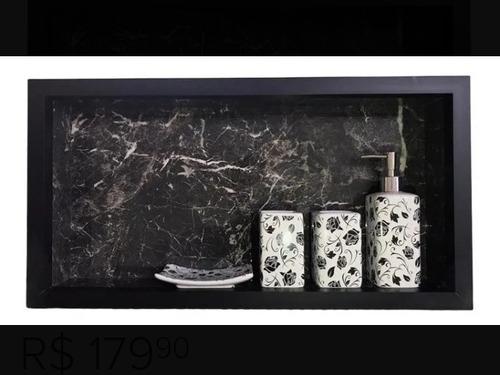 Imagem 1 de 2 de Ninchos De Porcelanato Para Banheiros