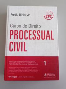 Curso De Direito Processual Civil V.1 Didier - 18ª Ed - 2016