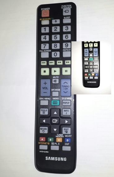 Controle Remoto Home Theater Samsung As59-02298a Ht-c6600