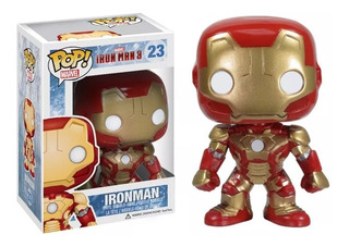Funko Pop 23 Iron Man 3 Vengadores Marvel