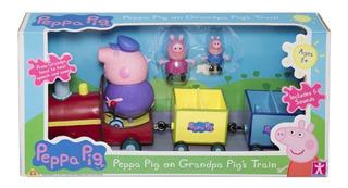 Peppa Pig 3 Personajes El Tren Del Abuelo George