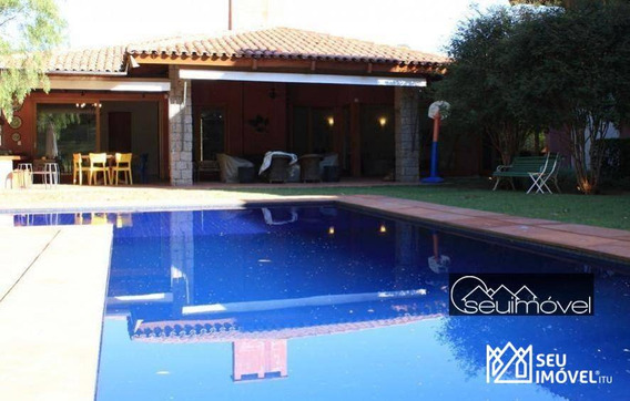 Casa Para Alugar, 544 M² - Fazenda Vila Real De Itu - Itu/sp - Ca0756