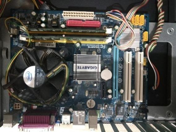 Kit Placa Mãe + Process Intel Dual Core + 2gb Ddr2 Promoção