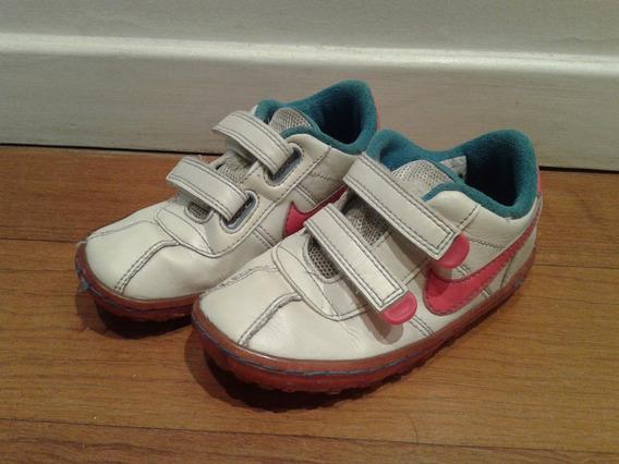 Zapatillas Cuero Importadas Para Nena: Nike Talle 24 (us9)