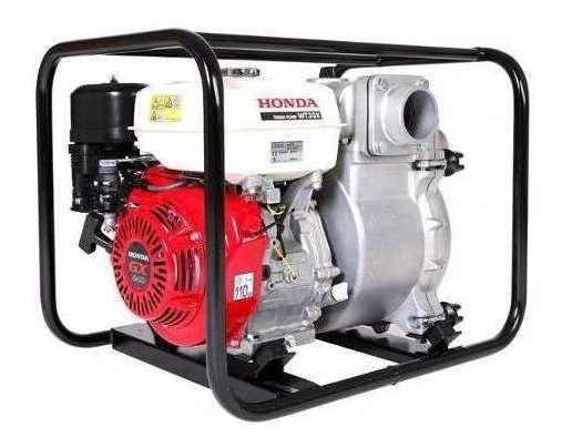 Motobomba Honda 3 8 Hp Agua Turbia Naftera 1300 L/m Wt30x