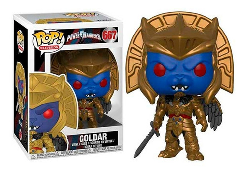 Funko Pop! - Power Rangers - Goldar #667