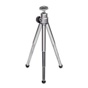 Tripe Mini De Aluminio C/ 3 Estagios Para Camera F-112 Dex