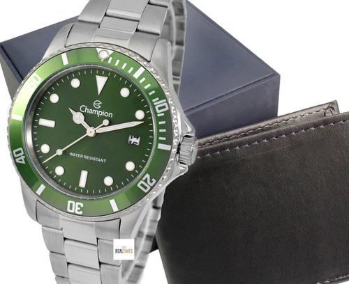 Relógio Masculino Champion Original Com Garantia E Nfe