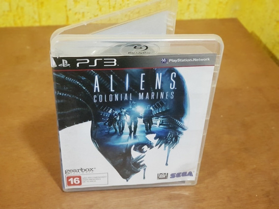 Aliens Colonial Marines Usado Ps3 Mídia Física