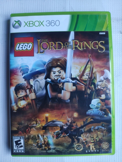 Lego The Lord Of The Rings Xbox 360 Original Semi Novo Dvd