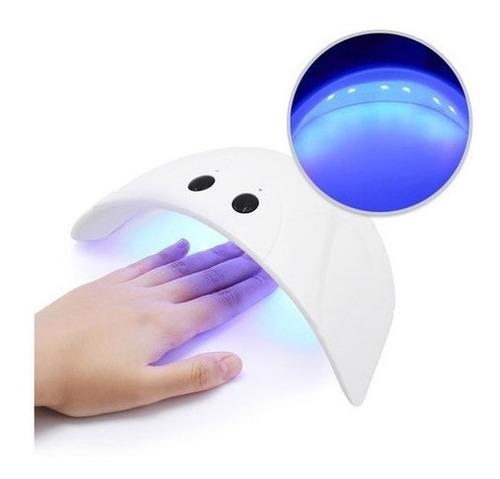 Lámpara Uñas Secador Esmalte Gel Uv Led Temporizador Rf 487