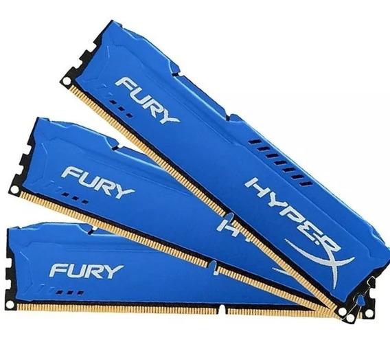 Memória Gamer Kingston Fury Hyperx Ddr3 4gb 1600 Mhz Desktop