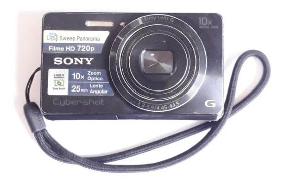 Câmera Digital Sony Cyber-shot G Dsc-w690 16.1mp 10x Zoom