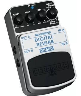 Pedal Behringer Dr600 Digital Reverb Estereo