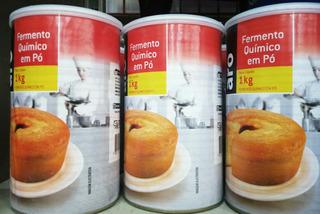 Fermento Quimico Em Pó 1kg