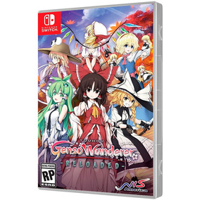 Jogo Touhou Genso Wanderer Reloaded Nintendo Switch.
