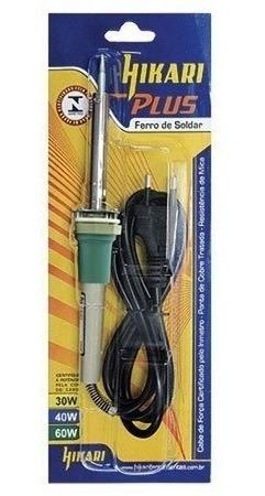 Ferro De Solda Hikari Plus 60w 127v.