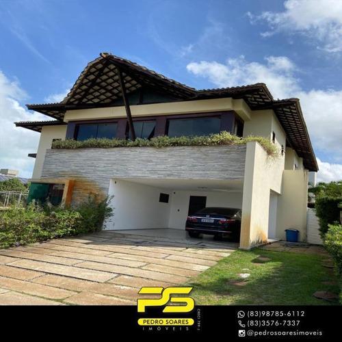 Casa Com 3 Dormitórios À Venda, 330 M² Por R$ 1.400.000,00 - Intermares - Cabedelo/pb - Ca0730