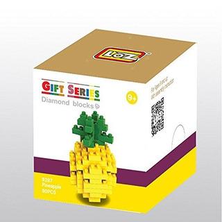 Loz Diy Diamond Blocks Figure Toy 9287 Pineapple