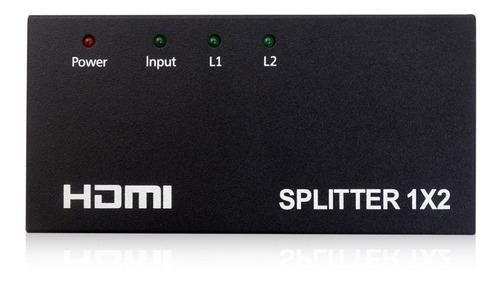 Splitter Multiplicador Hdmi 1x2