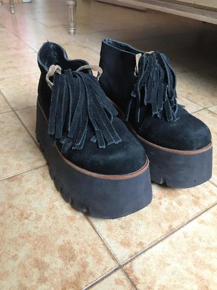 Zapatos Plataforma Gypsy Rock Sofía De Grecia