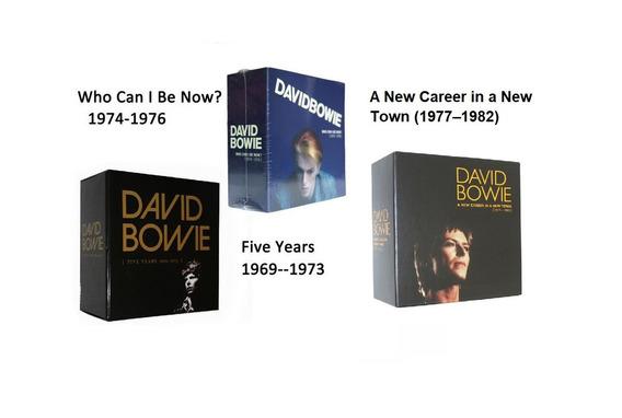 Tilogia Box David Bowie (1969-1973)(1974-1976)(19771982)